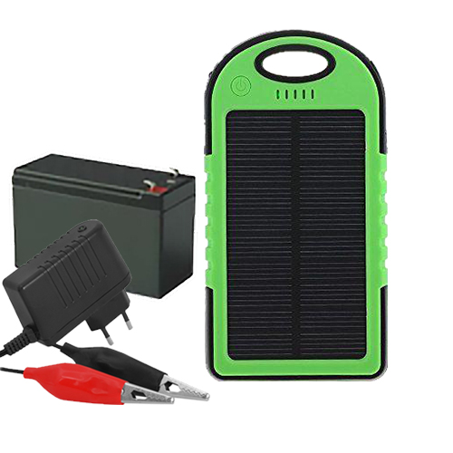 töltő adapter, napelemes powerbank